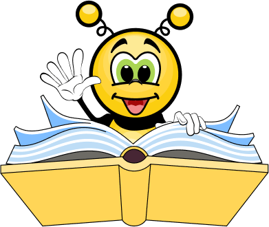 Bee with a book