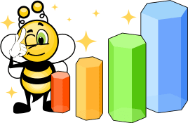 Biene verbessert ihr Norwegisch und kommt voran