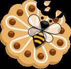 Albinuța mănâncă