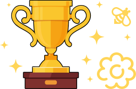 Trophy for learning a course